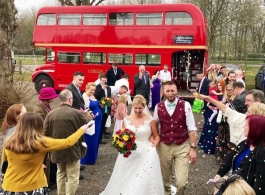 Routemaster wedding bus hire in Bromley